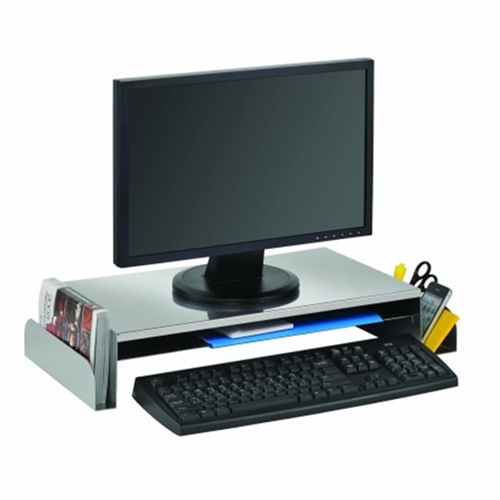 STEELMASTER 264655050 Monitor Stand Silver