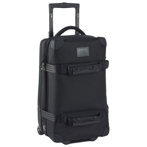 Burton Wheelie Flyer (True Black 1) Carry on Luggage