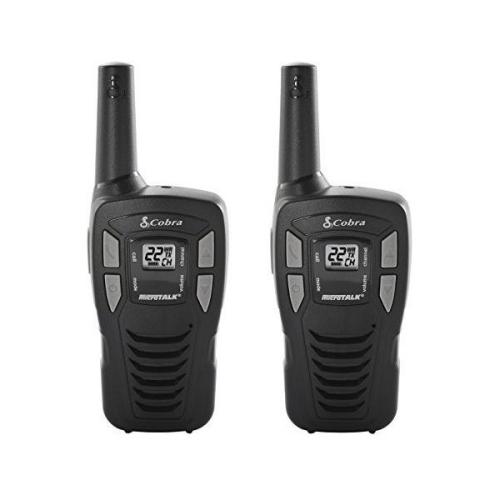 Cobra UHF-FM Compact Design 2-Way Radio with 16-Mile Range - CX-112