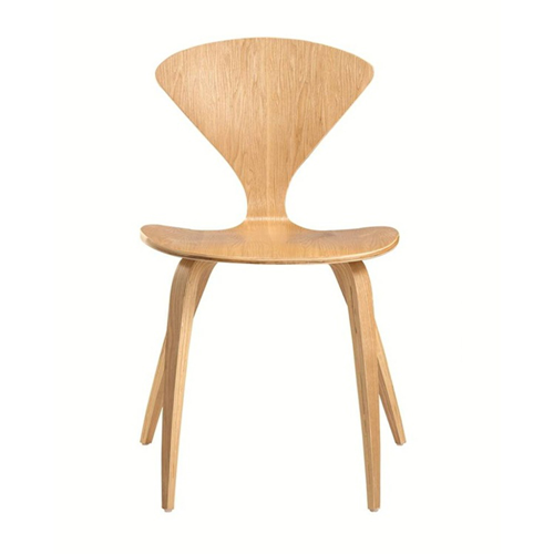 Fine Mod Imports Wooden Side Chair, Natural