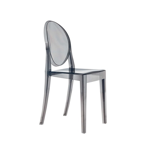 Fine Mod Imports Smoke Side Chair, Smoke