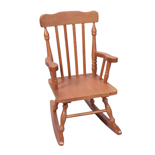 Childs Spindle Rocking Chair (Honey)