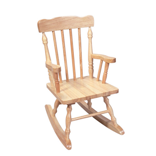 Gift Mark Childs Spindle Rocking Kids & Teens Chair - Natural
