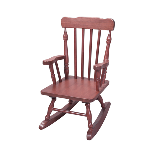 Childs Spindle Rocking Chair (Cherry)