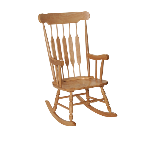 Adult Rocking Chair Natural Finish