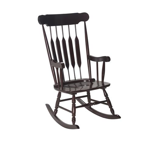 Adult Rocking Chair Espresso Finish