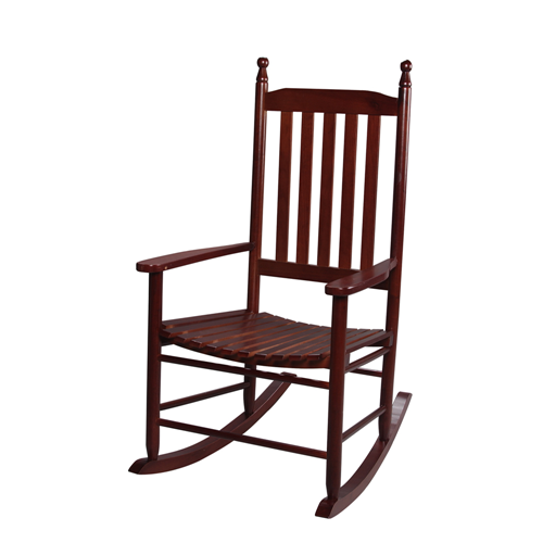 Adult Tall Back Rocking Chair Cherry