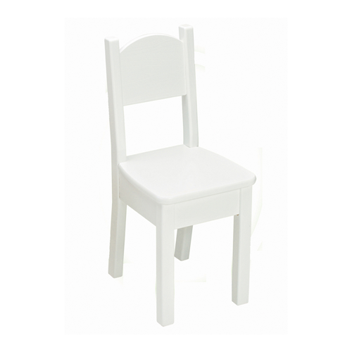 Little Colorado Kids Seating Open Back Chair Solid White