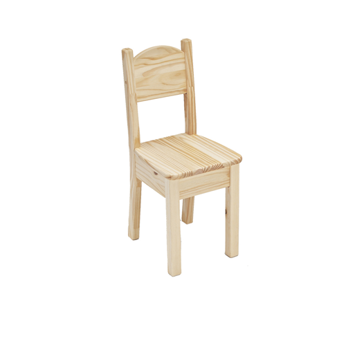 Little Colorado Kids Seating Open Back Chair Sanded and Unfinished