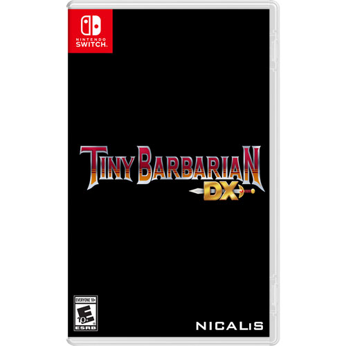 Tiny Barbarian DX (Switch) - English