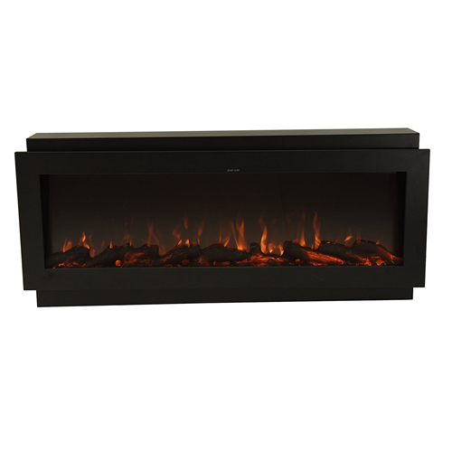 fireplace electric series flames landscape accessories modern linear led fireplaces play