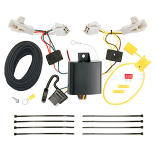 Tow Ready 118598 T-One Connector Assembly With Upgraded Circuit Protected Modulite Module 4.80 x 4 x 8.90 in.