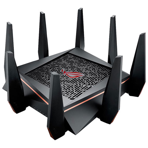 ASUS ROG Rapture Wireless AC5300 Tri-Band Gigabit Router (GT-AC5300)
