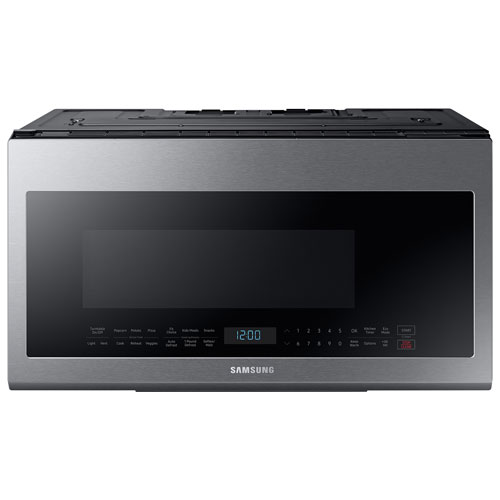 Samsung Over The Range Microwave 21 Cu Ft Stainless Steel