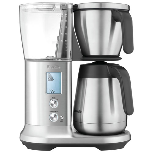 Breville Coffee Maker No Water : Breville Precision Thermal Coffee Maker - 12-Cup - Silver : Coffee Makers - Best Buy Canada