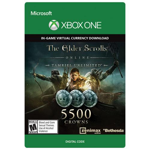 The Elder Scrolls Online: Tamriel Unlimited - 5500 Crowns - Digital Download
