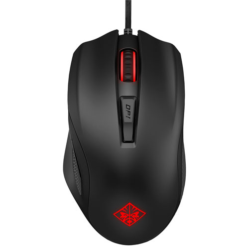 HP OMEN 600 Optical Mouse - Black