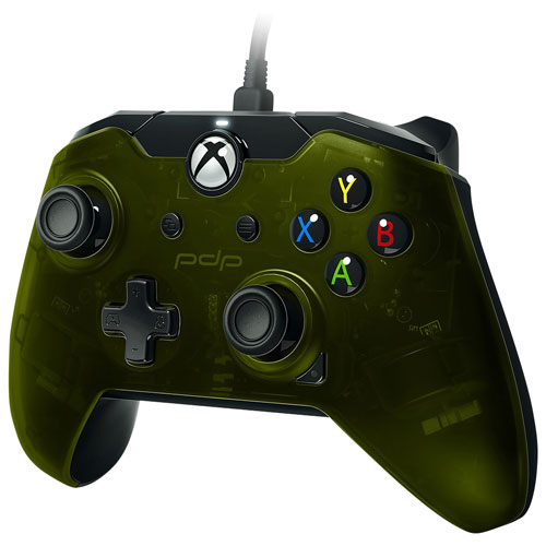 pdp wired controller for xbox one green xbox one