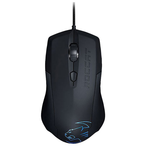 ROCCAT Lua ROC-11-310-AM 2000 dpi Tri-Button Optical Gaming Mouse - Black