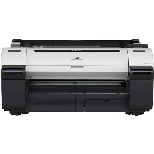 Canon ImagePROGRAF IPF670 24 Large Format Inkjet Printer