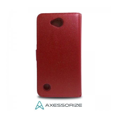 Axessorize Folio Case LG X Power 2 Rouge