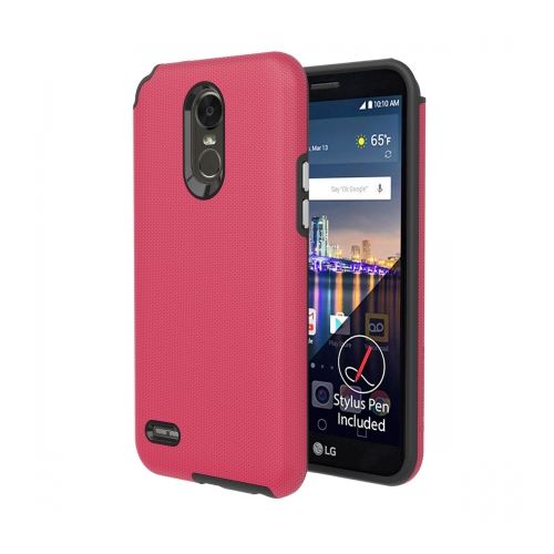 Axessorize Protech Case LG Stylo 3 Plus Rose Corail