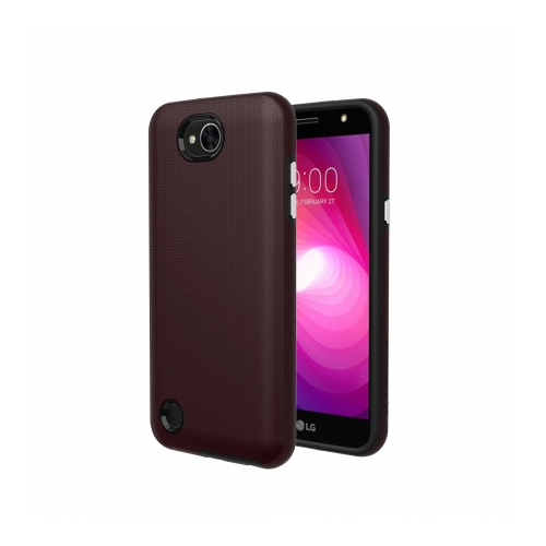 Axessorize Protech Case LG X Power 2 Rouge Bourgogne