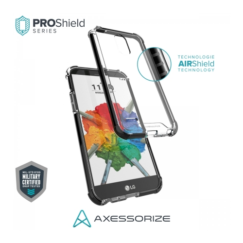 Axessorize Proshield LG Stylo 3 Plus Case Black