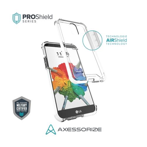 Axessorize Proshield LG Stylo 3 Plus Case White
