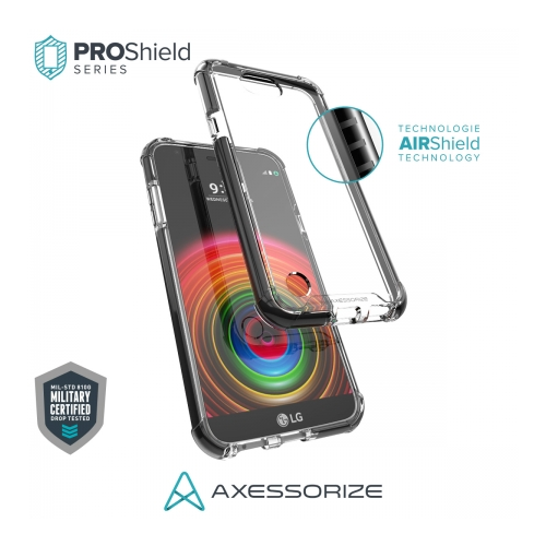 Axessorize Proshield LG X Power 2 Case Black