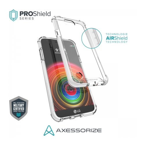 Axessorize Proshield LG X Power 2 Case Blanc