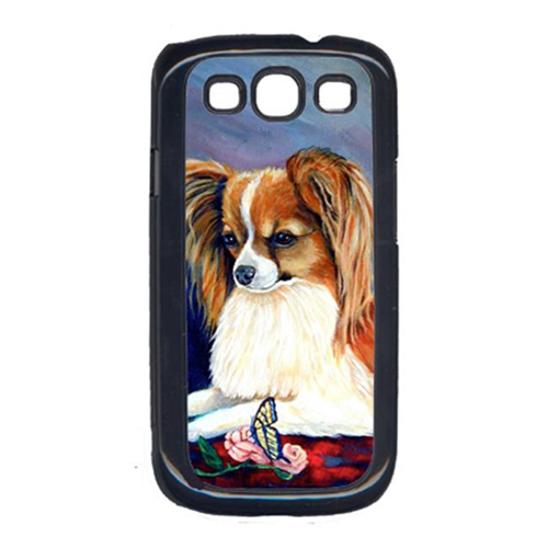 Carolines Treasures 7038GALAXYSIII Sable Papillon With A Butterfly And Rose Cell Phone Cover Galaxy S111