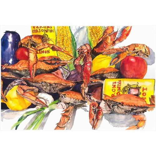 Carolines Treasures 1016MP 9.25 x 7.75 in. Verons and Crabs Mouse Pad Hot Pad Or Trivet