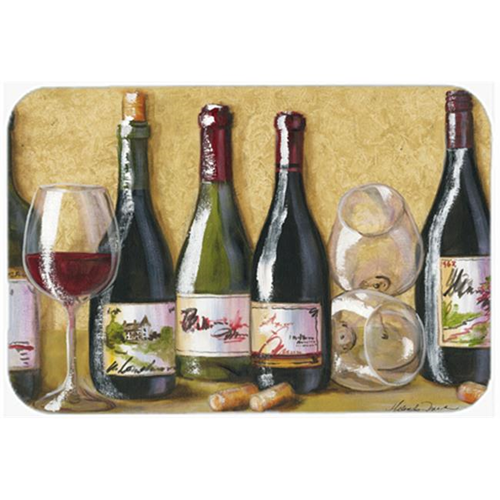 Carolines Treasures TMTR0271MP Wine Du Vin by Malenda Trick Mouse Pad Hot Pad or Trivet