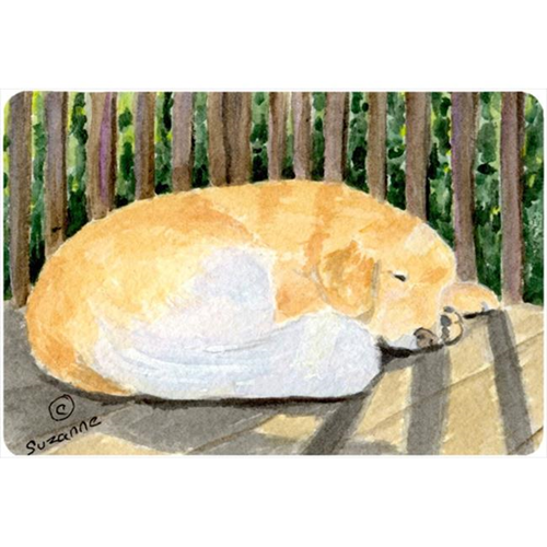 Carolines Treasures SS8760MP Golden Retriever Mouse pad hot pad or trivet