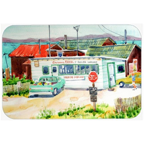 Carolines Treasures 6141MP Tacoma Beer & Boiled Shrimp Market Mouse Pad Hot Pad or Trivet