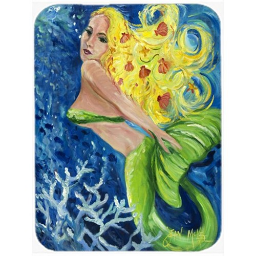 Carolines Treasures JMK1179MP Blonde Mermaid Mouse Pad Hot Pad & Trivet