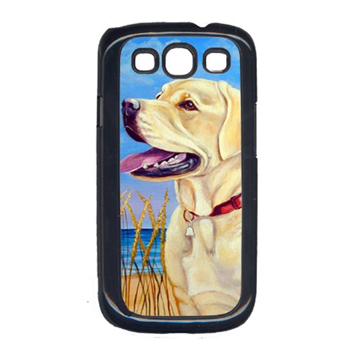 Carolines Treasures 7158GALAXYSIII Yellow Labrador At The Beach Galaxy S111 Cell Phone Cover