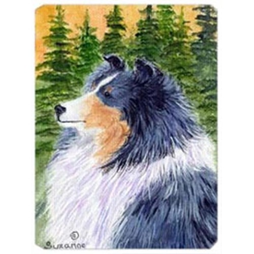 Carolines Treasures SS8142MP 8 x 9.5 in. Sheltie Mouse Pad Hot Pad or Trivet