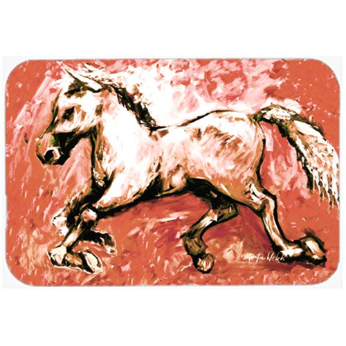 Carolines Treasures MW1170MP Shadow the Horse in Red Mouse Pad Hot Pad or Trivet