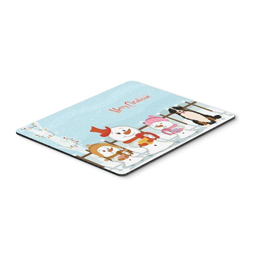 Carolines Treasures BB2367MP Merry Christmas Carolers Bernese Mountain Dog Mouse Pad Hot Pad or Trivet