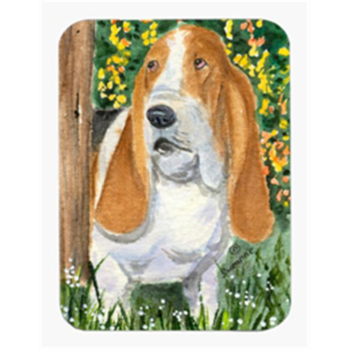 Carolines Treasures SS8964MP Basset Hound Mouse Pad & Hot Pad & Trivet