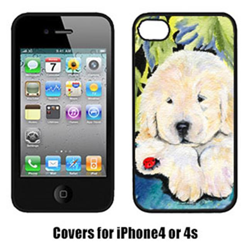 Carolines Treasures SS8271IP4 Golden Retriever Cell Phone cover IPhone 4