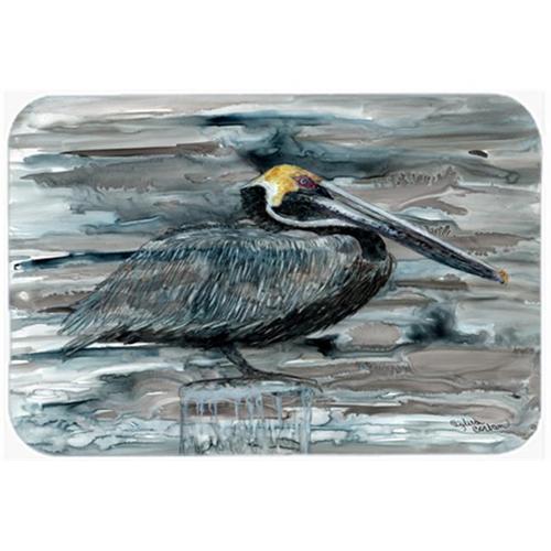 Carolines Treasures 8946MP Pelican In Grey Mouse Pad Hot Pad & Trivet