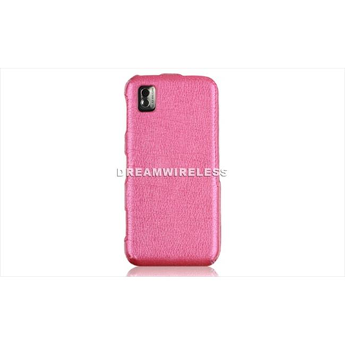 DreamWireless CALSAMI607HP Samsung I607 Crystal Leather Case Hot Pink