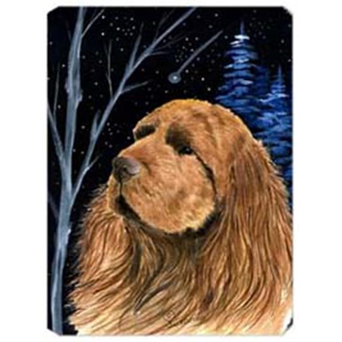 Carolines Treasures SS8391MP Starry Night Sussex Spaniel Mouse Pad