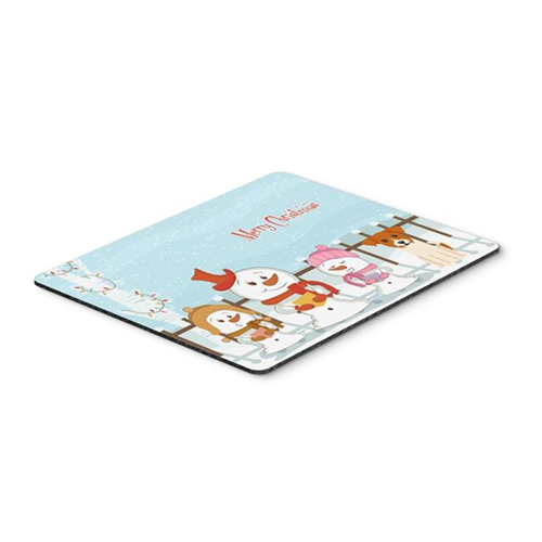 Carolines Treasures BB2439MP Merry Christmas Carolers Jack Russell Terrier Mouse Pad Hot Pad or Trivet