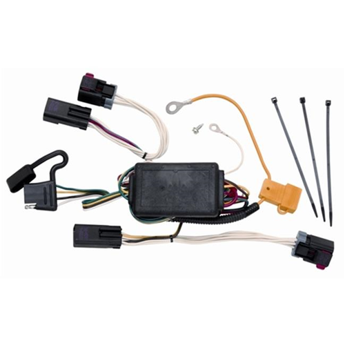 Tow Ready 118406 T-One Connector Assembly With Circuit Protected Modulite Module 3.98 x 5.63 x 9 in.