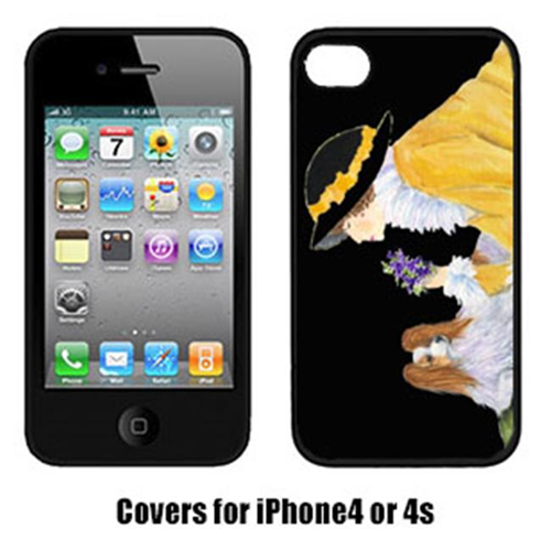 Carolines Treasures SS8633IP4 Japanese Chin Cell Phone Cover Iphone4