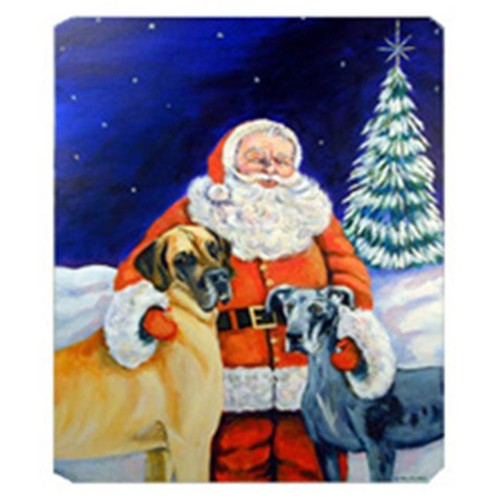Carolines Treasures 7232MP 8 x 9.5 in. Santa Claus with Great Dane Mouse Pad Hot Pad or Trivet
